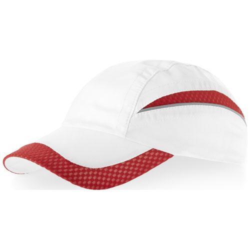 Qualifier 6 panel mesh cap