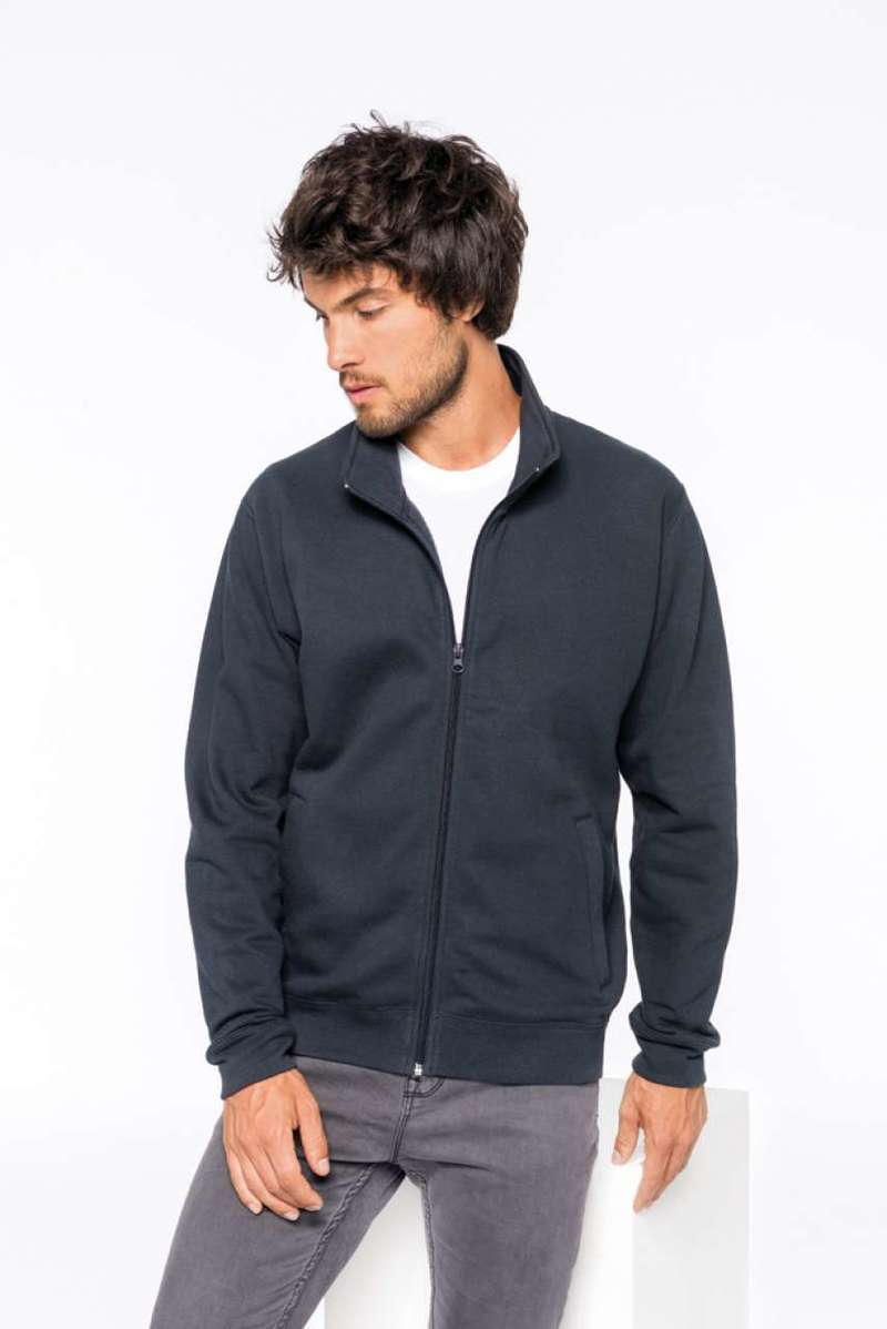 FULL ZIP SLEECE SWEATSHIRT
