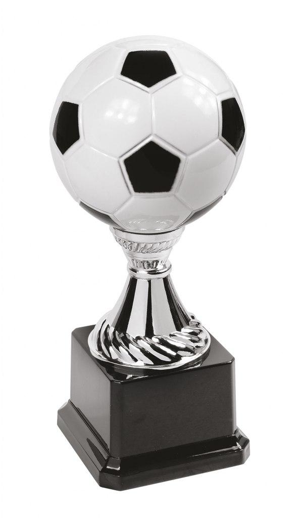 TROPHY FOOTBALL BALL H 240 MM