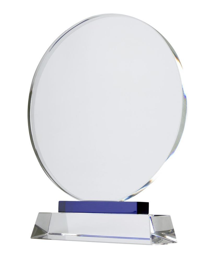 Tournament crystal trophy
