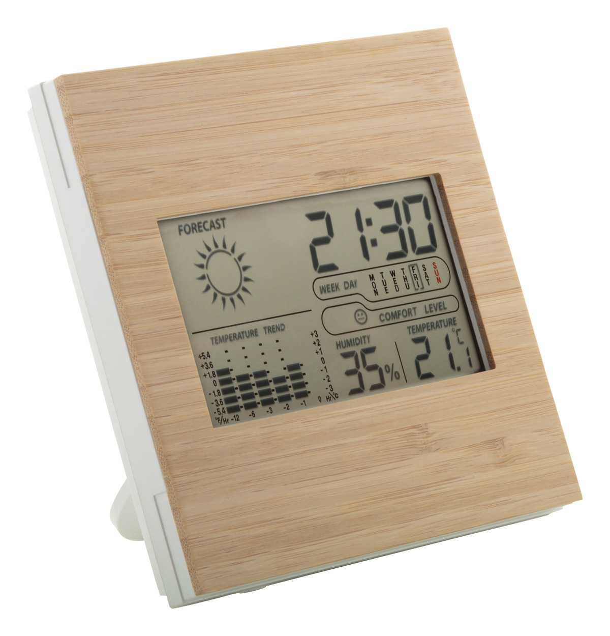 Boocast bamboo weather station