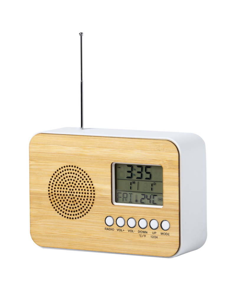 Tulax radio desk clock