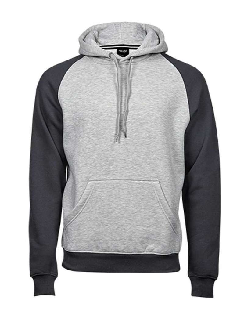 MEN'S TWO-TONE HOODED SWEATSHIRT