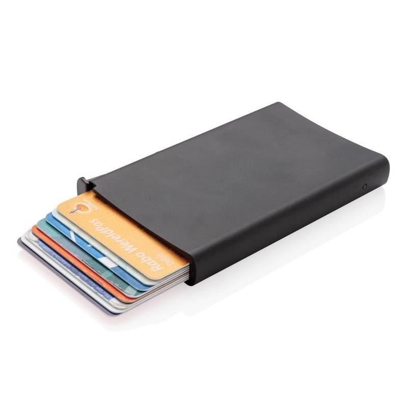 Standard aluminium RFID cardholder