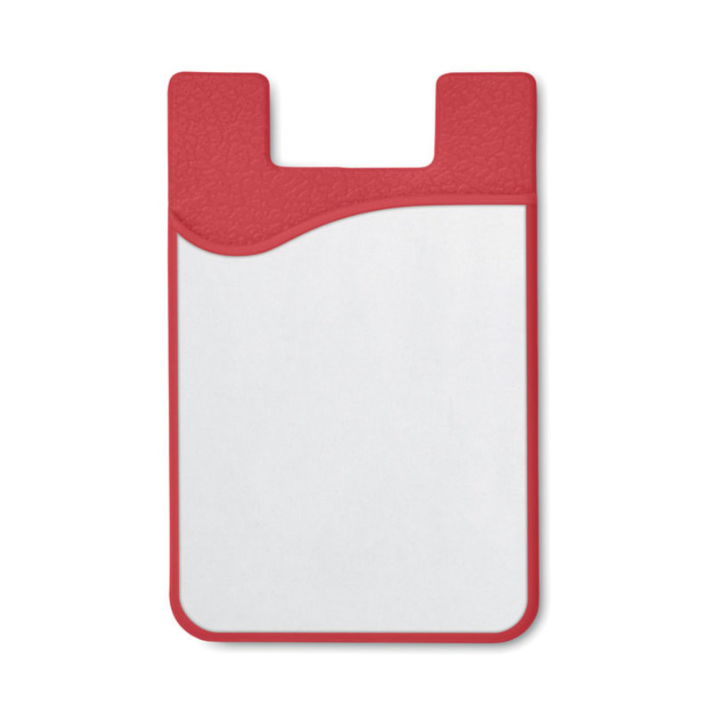 Sublimation silicone cardholder