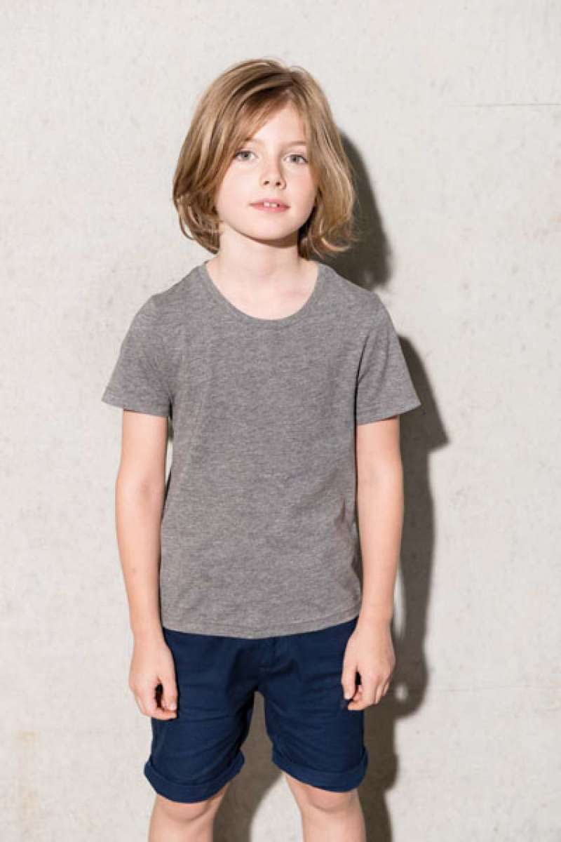 KIDS' ORGANIC COTTON SHORT SLEEVE T-SHIRT