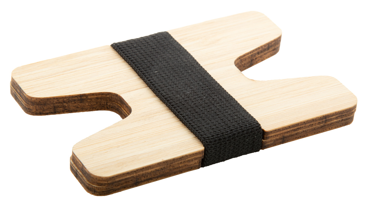 Wolly bamboo card holder wallet
