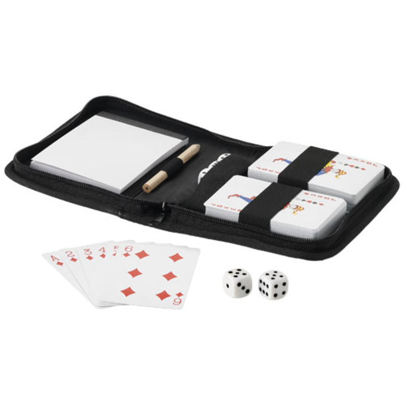 Tronx 2-piece playing cards set in pouch