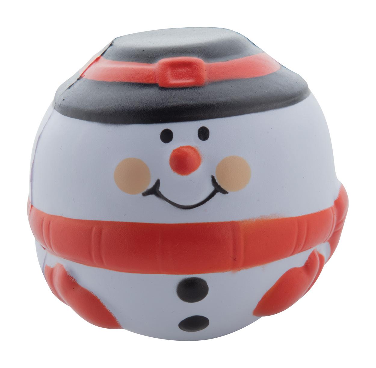 Snowman antistress ball