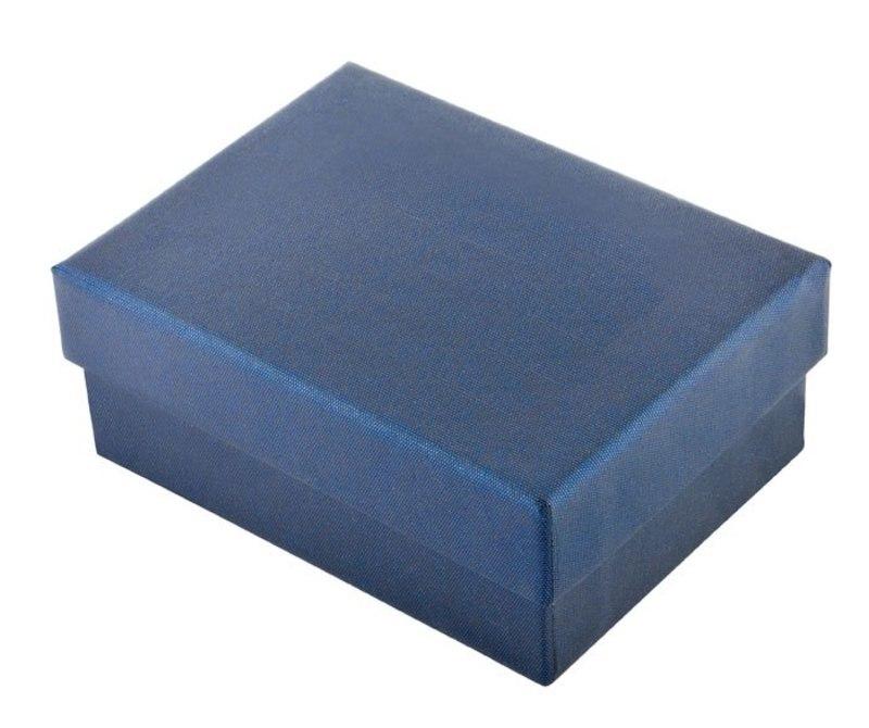 CARDBOARD BOX BLUE 60x83 h 35 mm - EMPTY