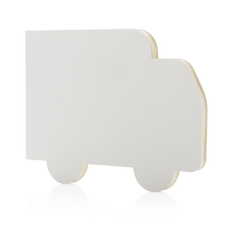Truck shaped notebook