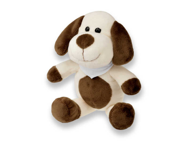 SCOOBY furry dog, Brown
