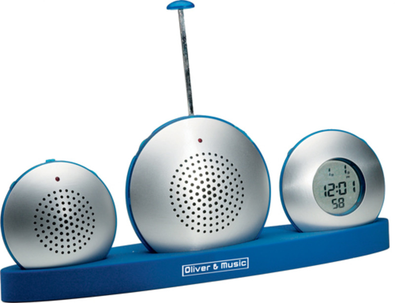 Reath dictaphone - radio-clock