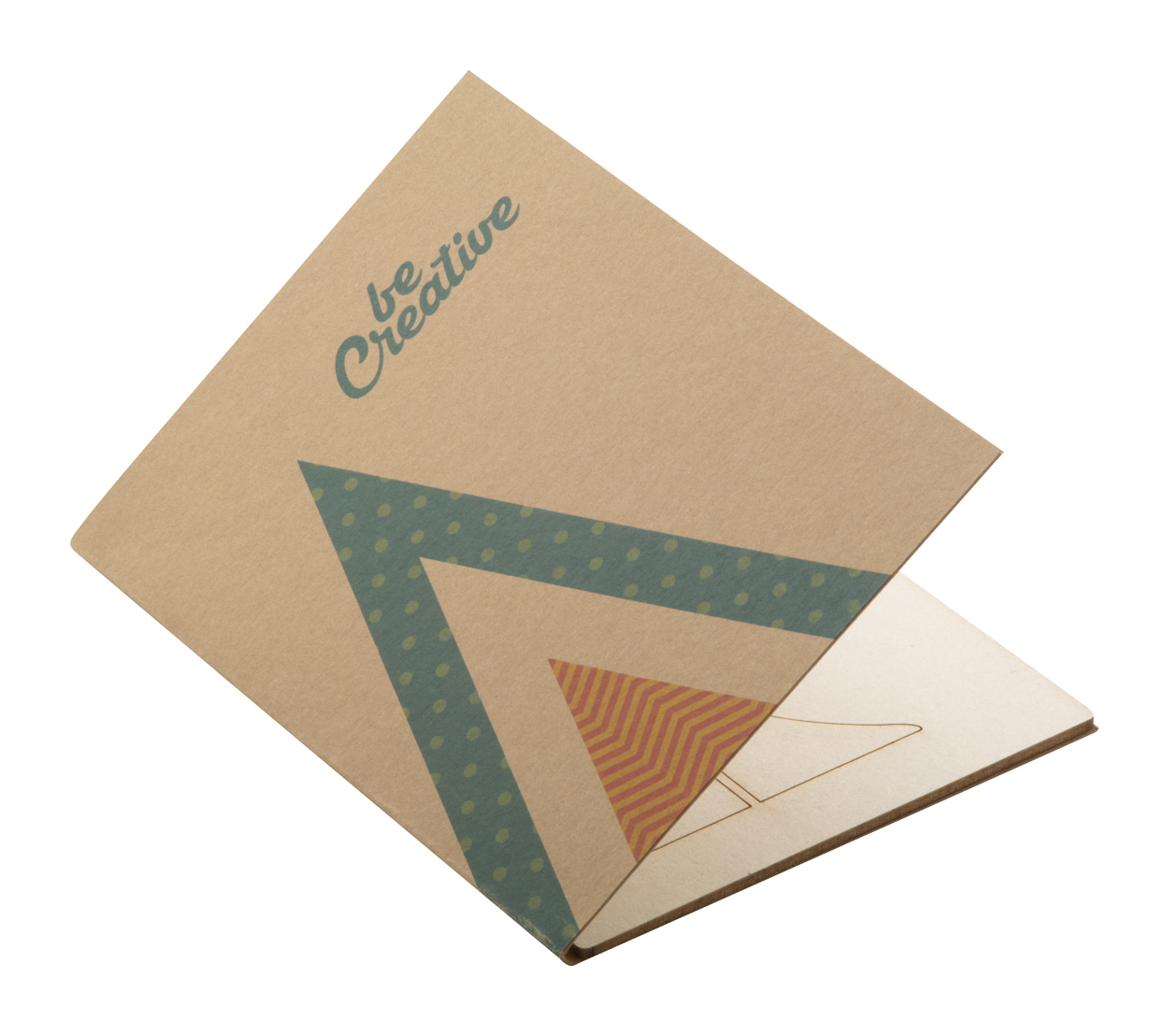 Creax Eco Christmas card, tree