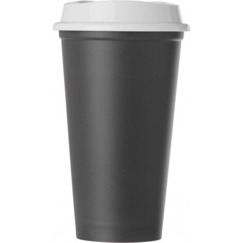 PP mug with lid