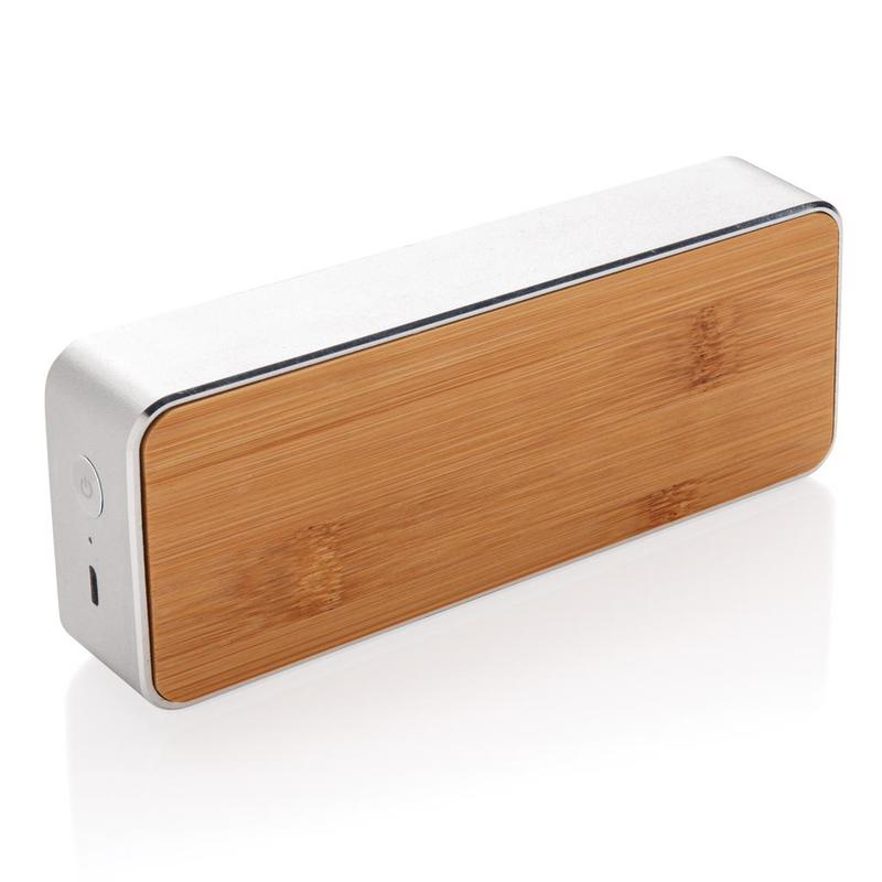 Nevada Bamboo 3W wireless speaker