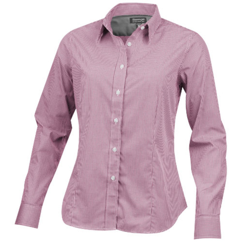 Net long sleeve ladies shirt