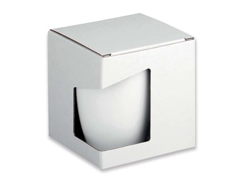 GB ERGO paper gift box, White