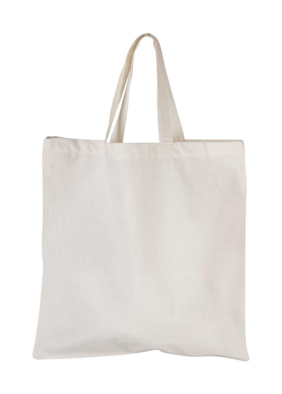 Shorty cotton shopping bag
