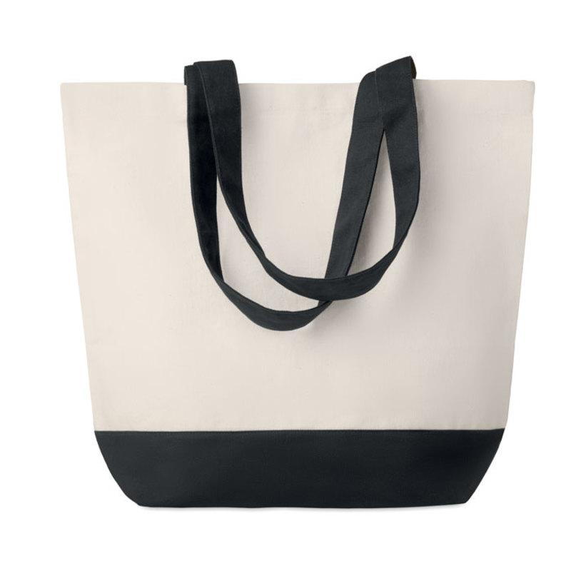 Canvas beach bag 170gr/m2