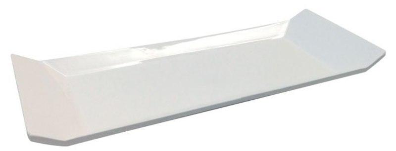 VALET DISH WHITE  27,5x11x3
