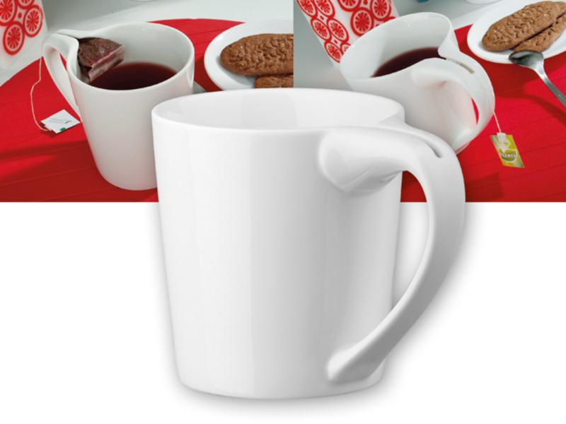 WRING porcelain mug, 380 ml, White