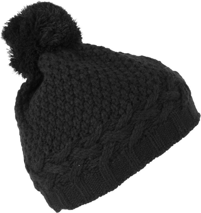COLOURBLOCK BOBBLE BEANIE