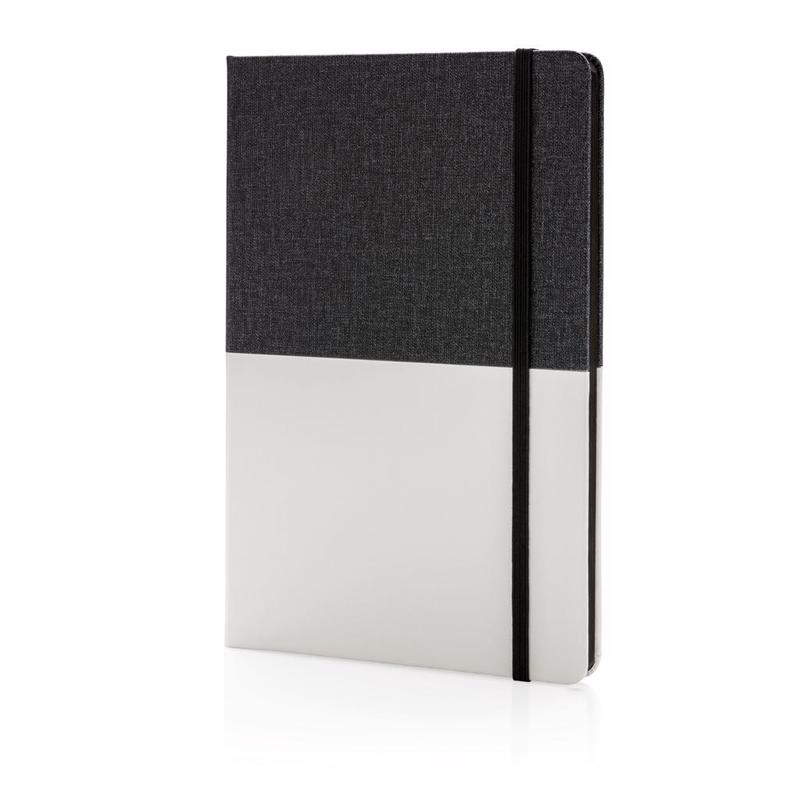Deluxe A5 double layered PU notebook