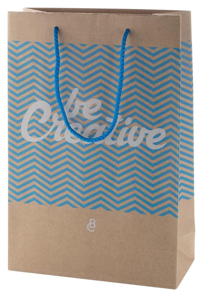 CreaShop M custom made paper shopping bag, medium