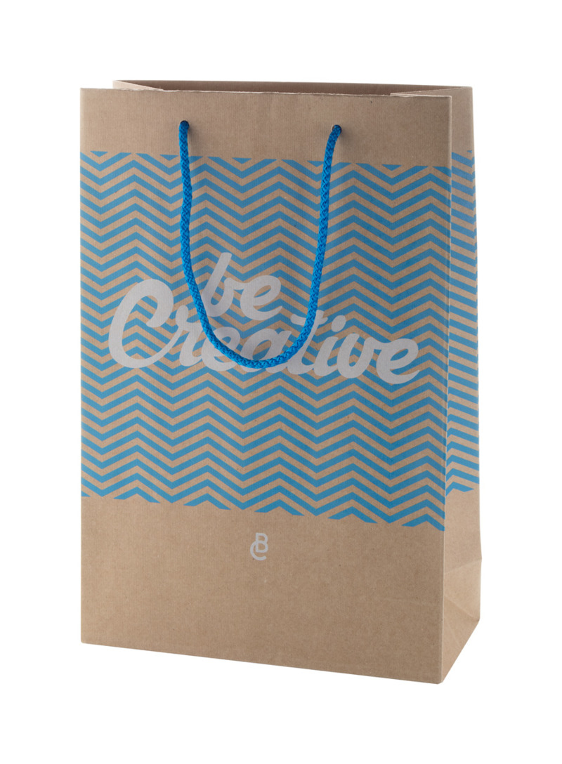 CreaShop M custom made paper shopping bag, medium