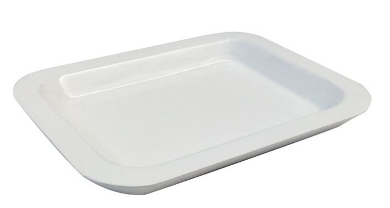 VALET DISH WHITE  130x158