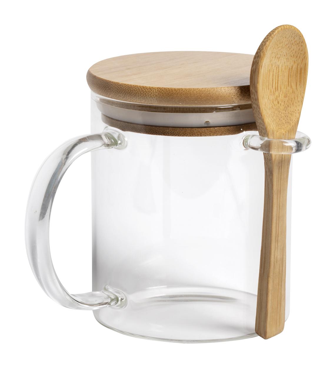 Kipal glass mug