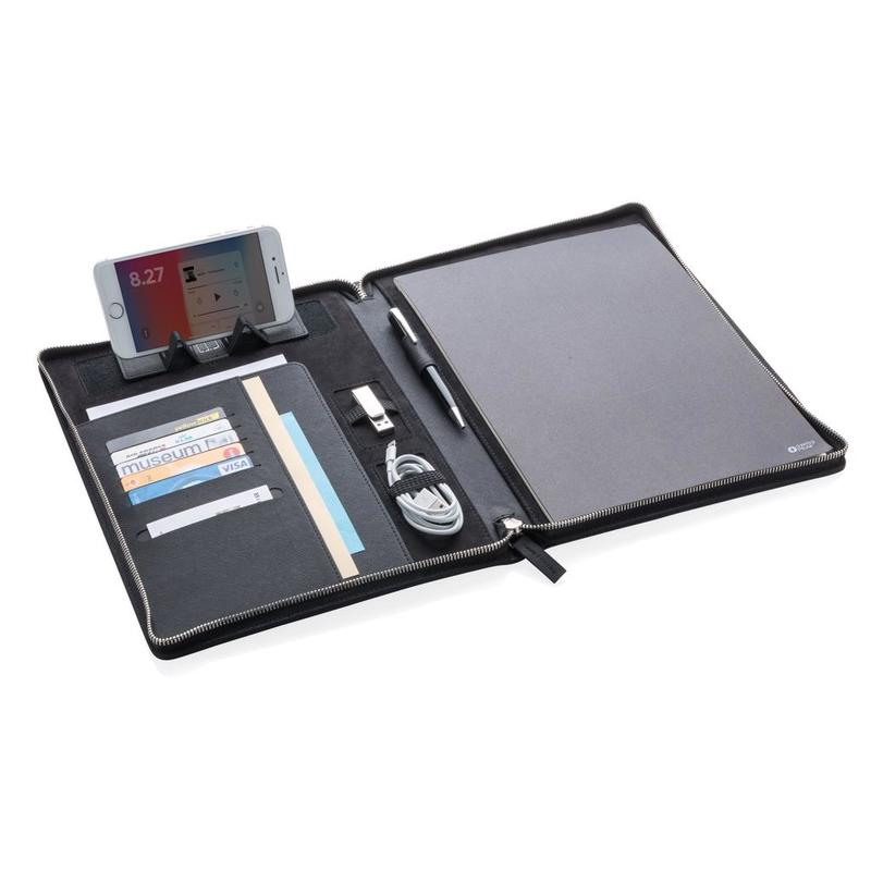 Heritage A4 portfolio with zipper