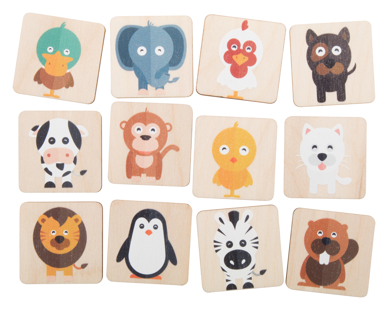 Immermor memory game, animals