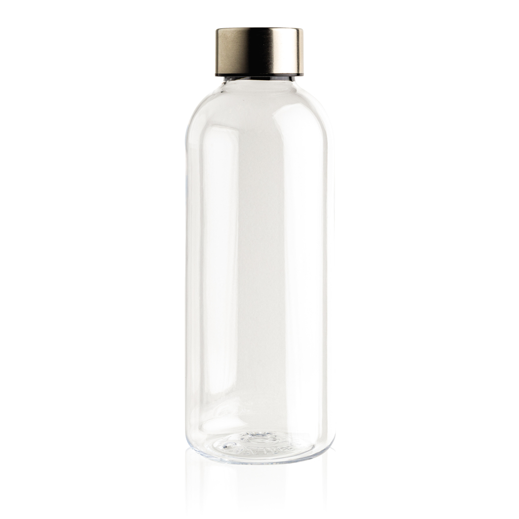 Leakproof water bottle with metallic lid