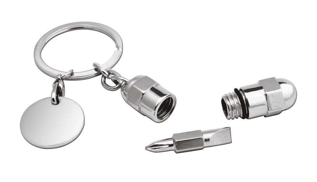 KEY CHAIN WITH SCREWDRIVER+TOKEN