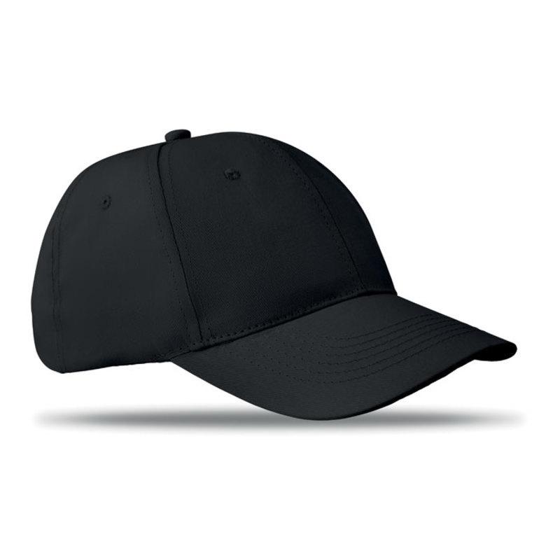 6 panels baseball cap