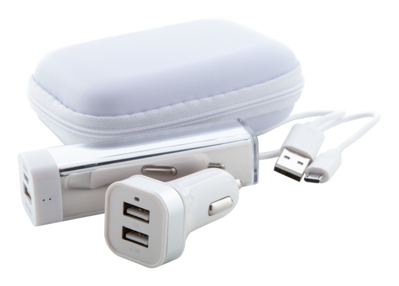 Nacorap USB charger and power bank set