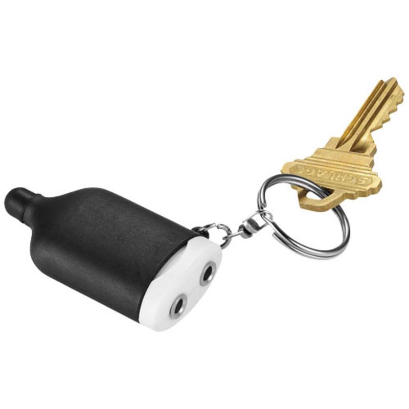 Jack 2-in-1 audio splitter and stylus keychain
