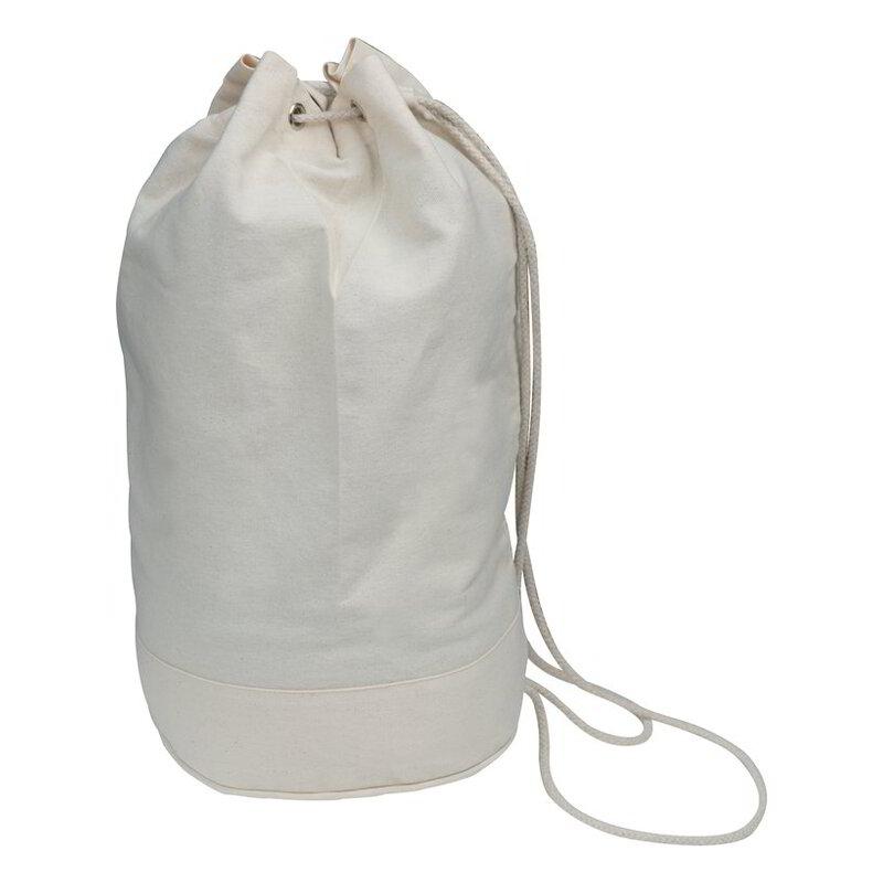 Cotton duffle bag