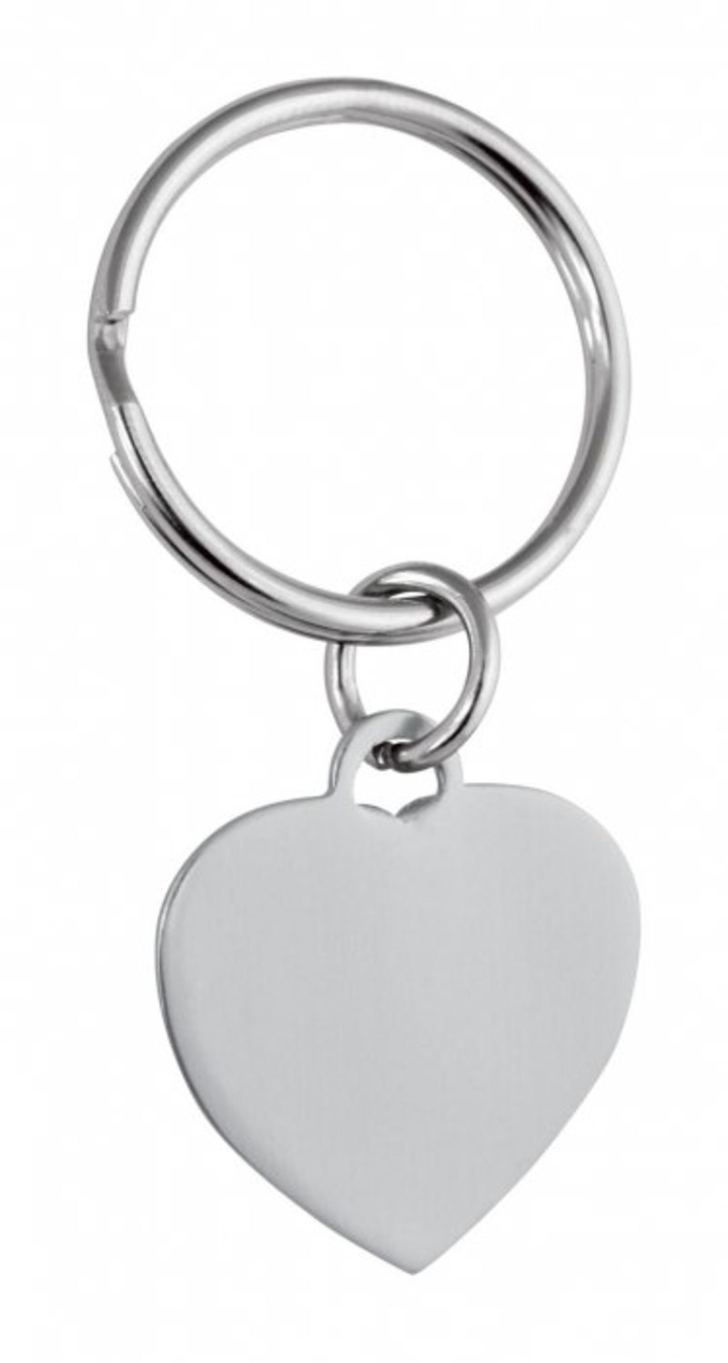 PENDANT SILVER HEART - 25x22 mm