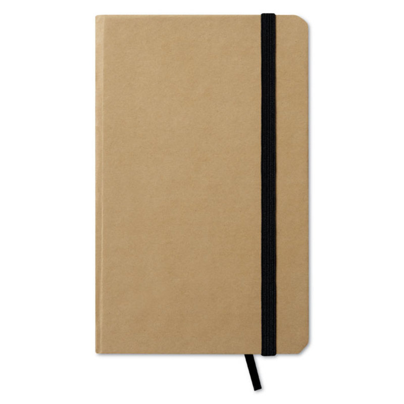 Recycled material notebook