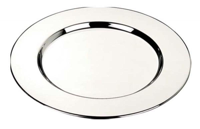 BOTTLE COASTER PLAIN - d=154 mm