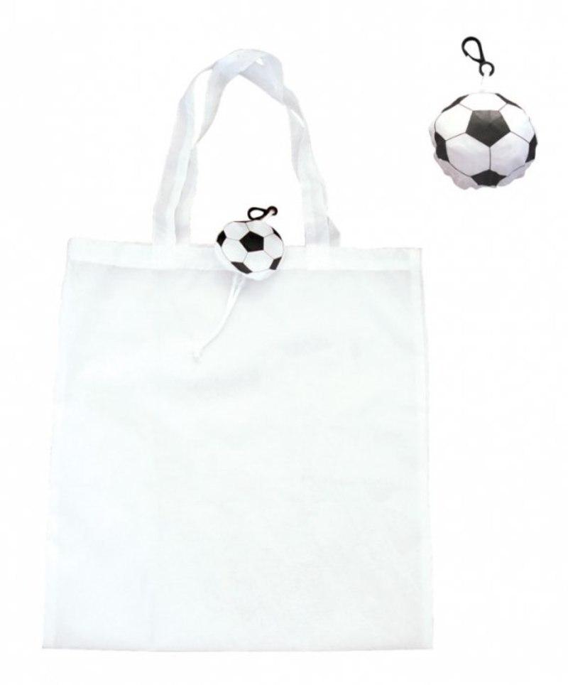 FOLDABLE SHOPPING BAG FOOTBALL BALL
