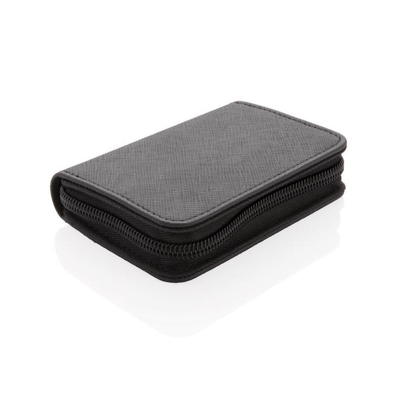 Swiss Peak secure RFID modern cardholder