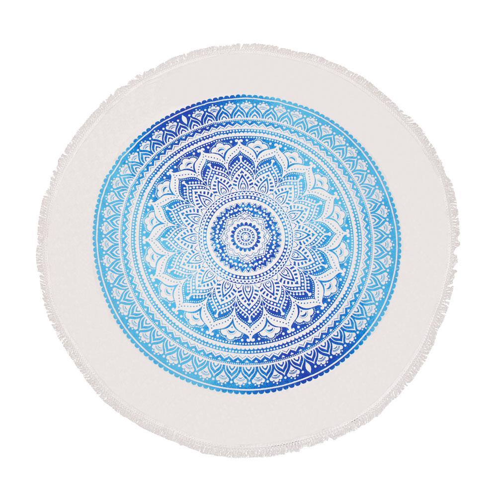 HINDU ROUND TOWEL PAREO